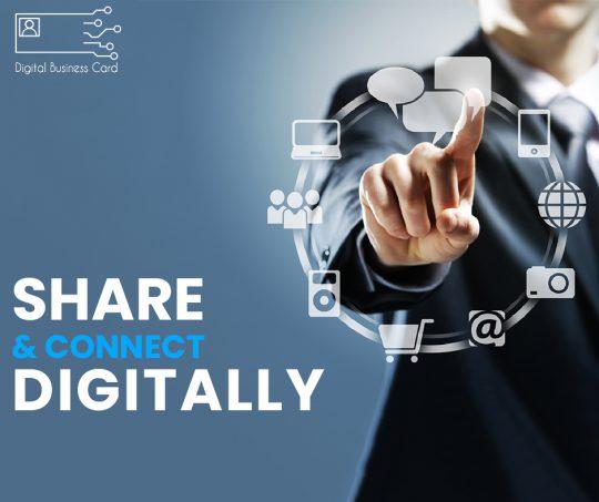 Share Digital Business Card